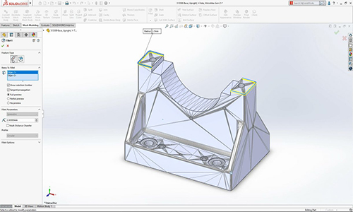 The most important features added to SolidWorks 2020 software