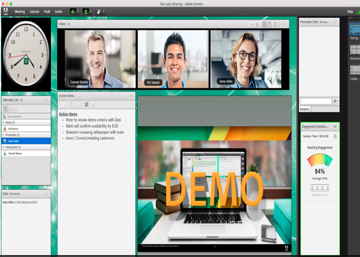 Download and learn Adobe connect software