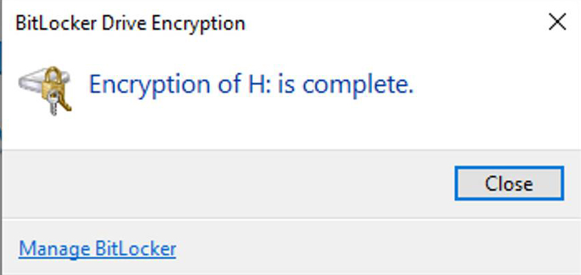how to encrypt flash memory with BitLocker