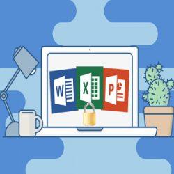 آموزش قفل گذاری روی فایل های آفیس و سند word