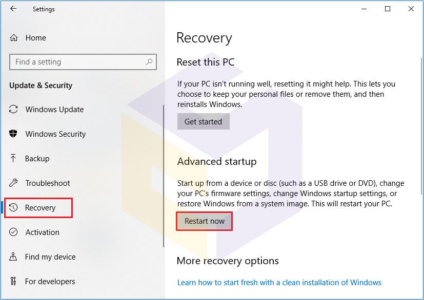 چگونه به UEFI در ویندوز 10 دسترسی پیدا کنیم ؟