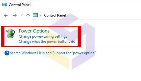 رفع مشکل خاموش نشدن فن و چراغ های لپتاپ از طریق power option