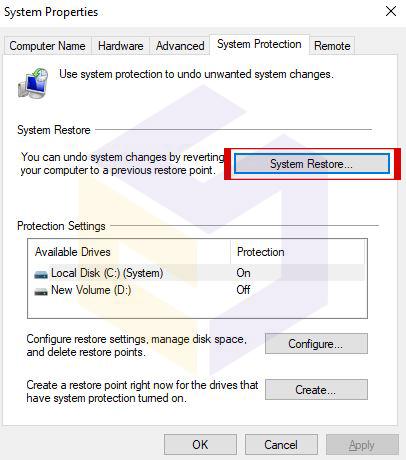 استفاده از بازگرداندن نسخه پشتیبان به Restore Point برای حل ارور منقضی شدن ویندوز 10