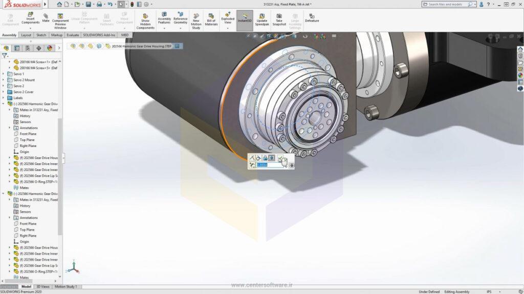 قابلیت همکاری با 3D Interconnect ،از ویژگی های سالیدورکس 2020