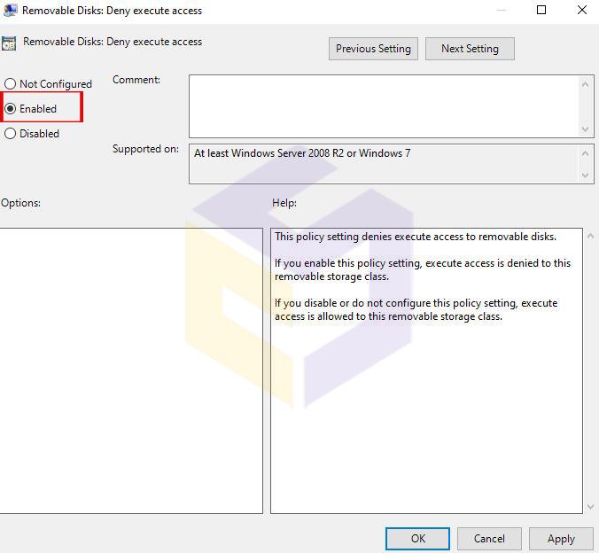 غیر فعال کردن درایو USB در ویندوز 10