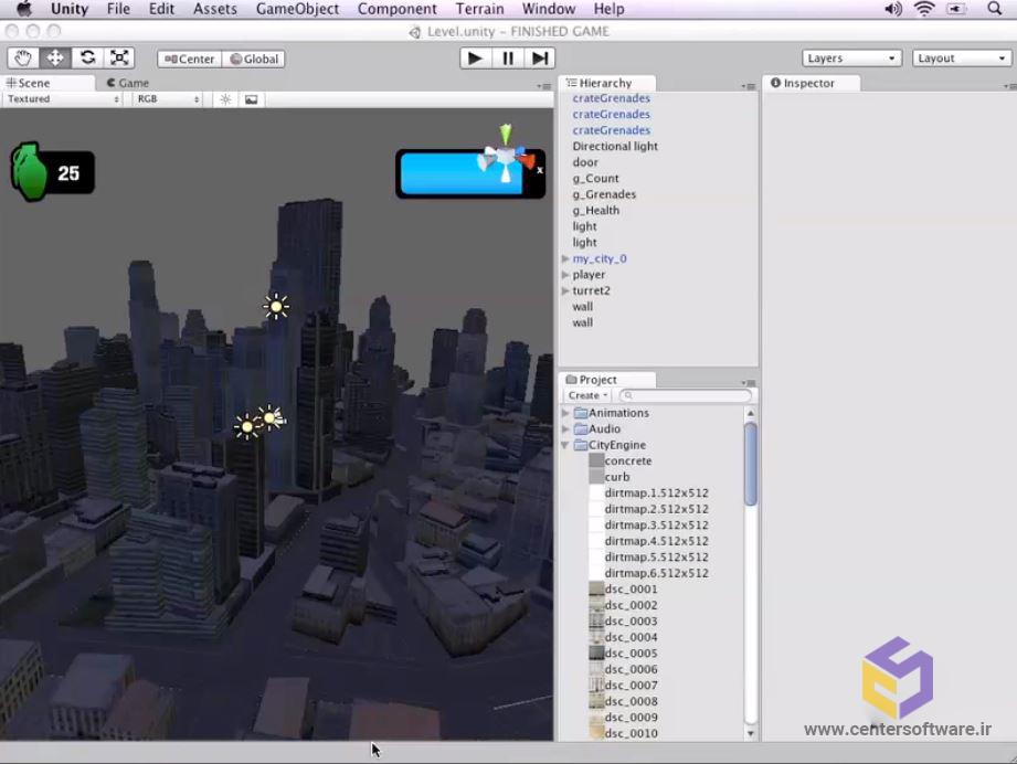 خرید آموزش یونیتی سه بعدی ، مقدمات بازی سازی با موتور یونیتی سه بعدی