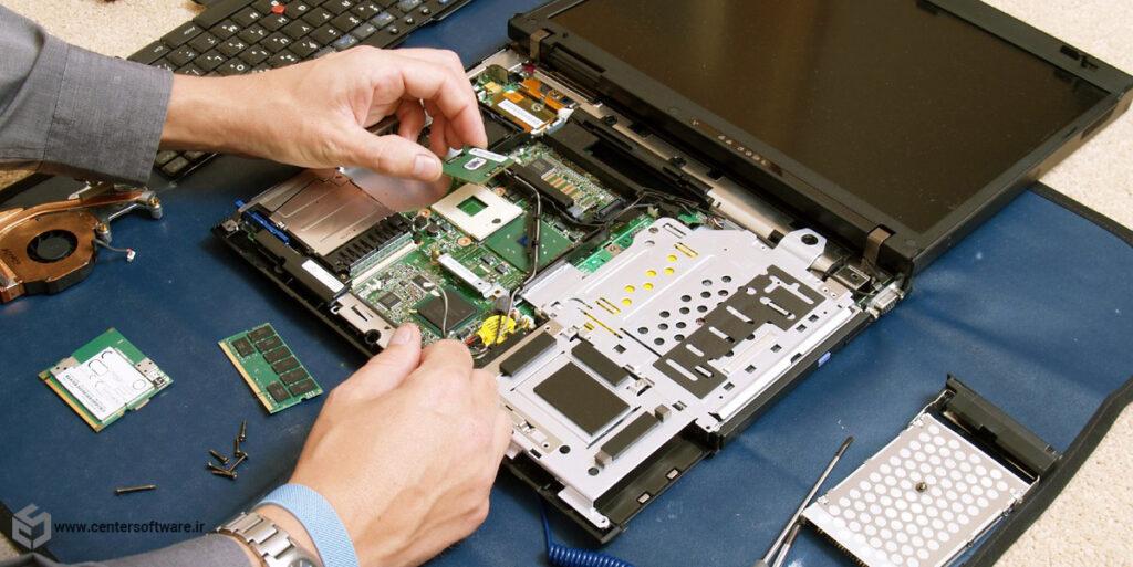 تعمیر لپ تاپ در شیراز به علت سر و صدای زیاد لپ تاپ