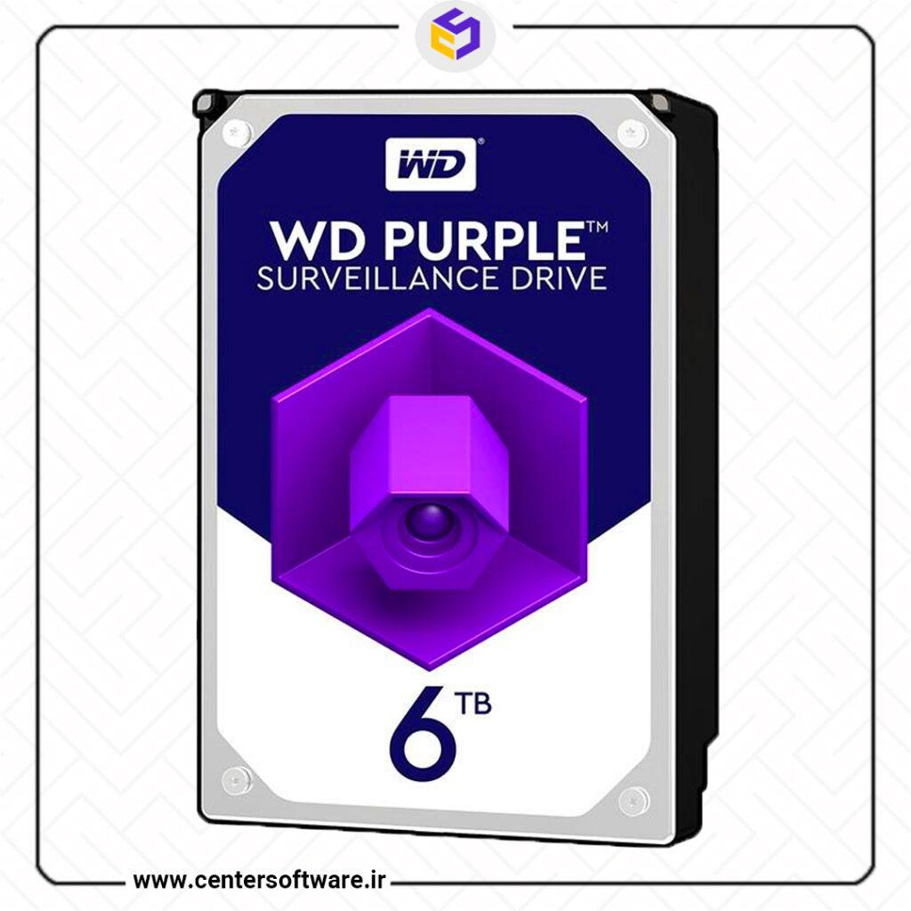 خرید هارد Purple WD60PURZ وسترن دیجیتال بنفش
